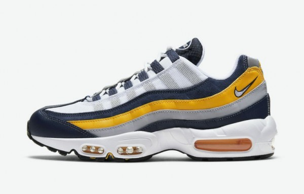 Nike Air Max 95 Blanche/Navy/Or CZ0191-400