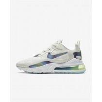 Nike Air Max 270 React Blanche/Platinum Tint/Blanche/Multi-Color CT5064-100