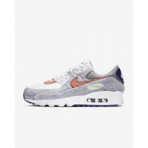 Nike Air Max 90 Blanche/Violet/Vert CT1684-100