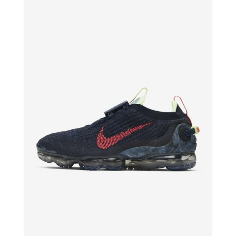 Nike Air Vapormax 2020 FlyKnit Bleu/Barely Volt/Anthracite/Rouge CW1765-400